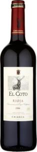 El Coto Crianza 2008, Doca Rioja Bottle