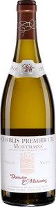 Domaine Des Malandes Chablis Premier Cru Montmains Vieilles Vignes 2013, Chablis Bottle