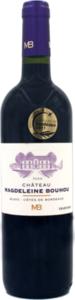 Château Magdeleine Bouhou Blaye Côtes De Bordeaux 2010 Bottle