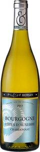 J F & P L Bersan Bourgogne Côtes D'auxerre Chardonnay 2011 Bottle