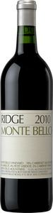 Ridge Vineyards Monte Bello 2010, Santa Cruz Mountains Bottle