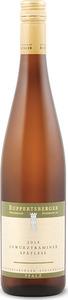 Ruppertsberger Linsenbusch Gewürztraminer Spätlese 2014, Prädikatswein Bottle