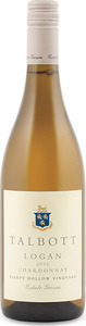 Talbott Logan Sleepy Hollow Vineyard Chardonnay 2013, Santa Lucia Highlands, Monterey County Bottle