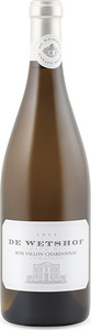 De Wetshof Bon Vallon Unwooded Chardonnay 2014, Wo Robertson Bottle