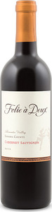 Folie À Deux Cabernet Sauvignon 2012, Alexander Valley, Sonoma County Bottle