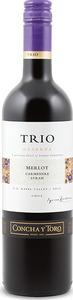 Concha Y Toro Trio Reserva Merlot/Carmenère/Cabernet Sauvignon 2013, Rapel Valley Bottle