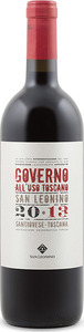 San Leonino Governo All'uso 2013, Igt Toscana Bottle