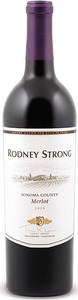 Rodney Strong Merlot 2012, Sonoma County Bottle