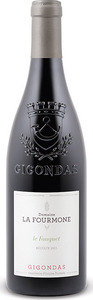 Domaine La Fourmone Le Fauquet Gigondas 2012, Ap Bottle