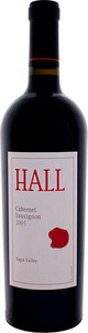 Hall Cabernet Sauvignon 2011, Napa Valley Bottle