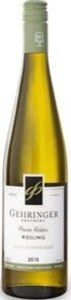 Gehringer Brothers Private Reserve Riesling 2014, BC VQA Okanagan Valley Bottle