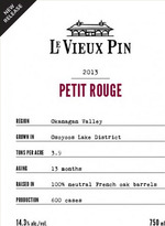 Le Vieux Pin Petit Rouge 2011, VQA Okanagan Valley Bottle