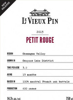 Le Vieux Pin Petit Rouge 2012, VQA Okanagan Valley Bottle