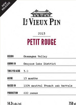 Le Vieux Pin Petit Rouge 2013, VQA Okanagan Valley Bottle