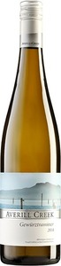 Averill Creek Gewurztraminer 2014, Cowichan Valley Bottle