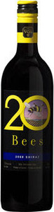20 Bees Shiraz 2012, Ontario VQA Bottle