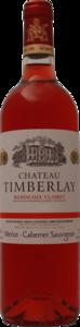 Chateau Timberlay Bordeaux Clairet 2014 Bottle