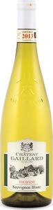 Château Gaillard Touraine Sauvignon Blanc 2013, Ac Bottle