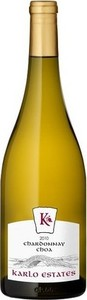 "Karlo Estates Chardonnay ""Choa"" 2013, Prince Edward County Bottle"