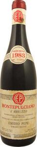 Emidio Pepe Montepulciano D'abruzzo 1983 Bottle