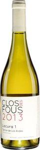 Clos Des Fous Chardonnay 2013, Valle Del Rappel, Valle De Cachapoal Bottle