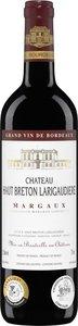 Château Haut Breton Larigaudière 2009, Ac Margaux Bottle