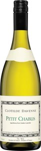 Clotilde Davenne Petit Chablis 2013 Bottle