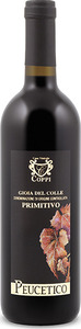 Coppi Peucetico Primitivo 2008, Doc Gioia Del Colle Bottle