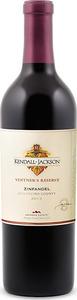 Kendall Jackson Vintner's Reserve Zinfandel 2013, Mendocino County Bottle