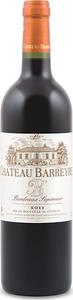 Château Barreyre 2011, Ac Bordeaux Supérieur Bottle