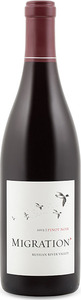 Migration Pinot Noir 2013, Russian River Valley, Sonoma County Bottle