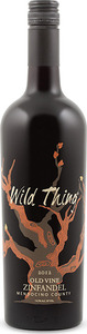 Wild Thing Old Vine Zinfandel 2012, Mendocino County Bottle