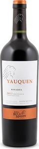 Yauquen Bonarda 2013, Mendoza Bottle