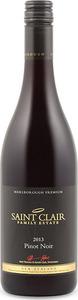 Saint Clair Premium Pinot Noir 2013, Marlborough, South Island Bottle