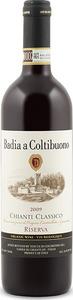 Badia A Coltibuono Riserva Chianti Classico 2009, Docg Bottle