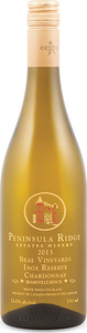 Peninsula Ridge Beal Vineyards Inox Reserve Chardonnay 2013, VQA Beamsville Bench, Niagara Peninsula Bottle