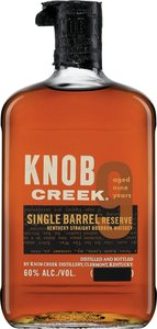 Knob Creek 9 Ans Single Barrel Kentucky Bourbon Bottle