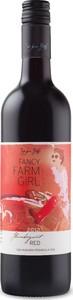 """Fancy Farm Girl """"Flamboyant"""" Red 2012, Niagara Peninsula Bottle"""
