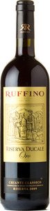 Ruffino Ducale Oro Riserva Gran Selezione Chianti Classico 2010, Docg Bottle