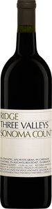 Ridge Three Valleys 2012, Sonoma County Bottle