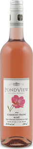 Pondview Cabernet Franc Rosé 2014, VQA Four Mile Creek, Niagara Peninsula Bottle
