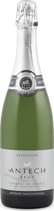 Antech Cuvée Expression Brut Crémant De Limoux 2012, Ac, Méthode Traditionnelle Bottle