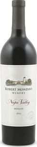 Robert Mondavi Merlot 2012, Napa Valley Bottle