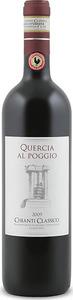 Quercia Al Poggio Chianti Classico 2009, Docg Bottle