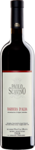 Affinato In Carati Scavino Barbera D'alba 2012 Bottle