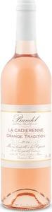 La Cadierenne Cuvée Grande Tradition Bandol Rosé 2013, Ac Bottle