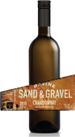Ravine Vineyards Sand & Gravel Chardonnay 2014, Niagara Peninsula Bottle