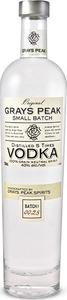 Grays Peak Small Batch Vodka Bottle
