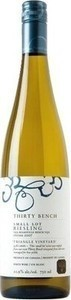 Thirty Bench Small Lot Triangle Vineyard Riesling 2009, VQA Beamsville Bench, Niagara Peninsula Bottle