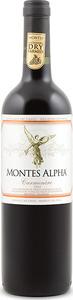 Montes Alpha Carmenère 2012, Colchagua Valley Bottle